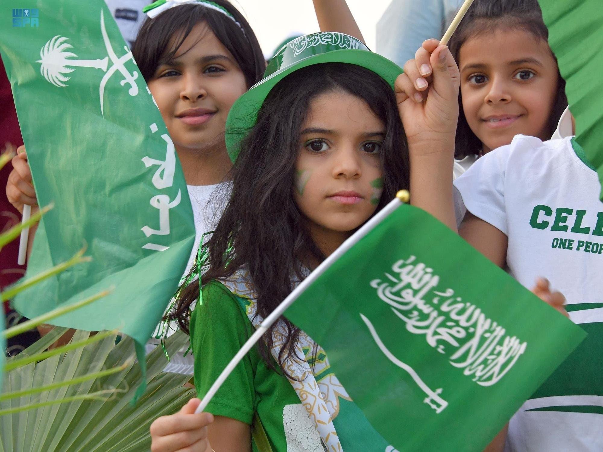 مظاهر احتفال اليوم الوطني السعودي 91 ,,..