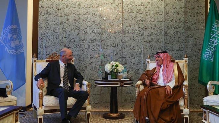 وزير الخارجية السعودي يلتقي المبعوث الأميركي الخاص لشؤون إيران