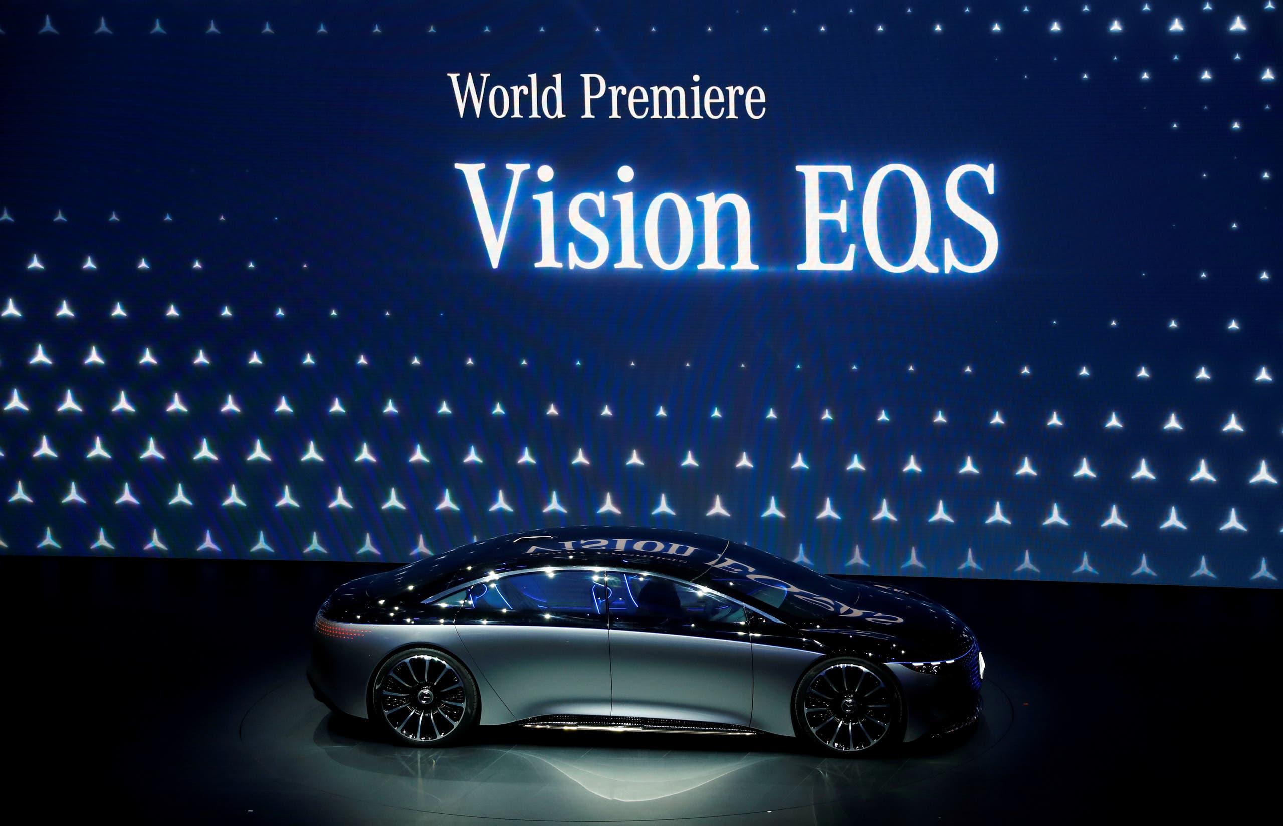 سيارة Mercedes-Benz EQS