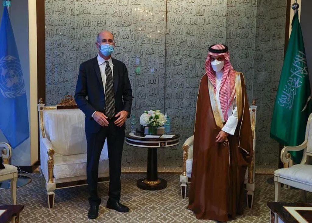 شاهزاده فیصل بن فرحان و رابرت مالی