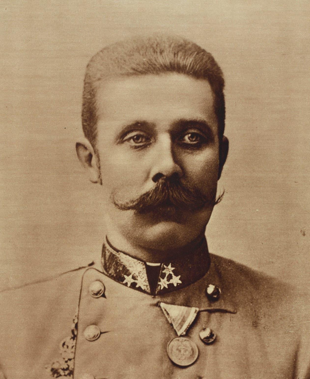 صورة لولي عهد النمسا فرانز فرديناند