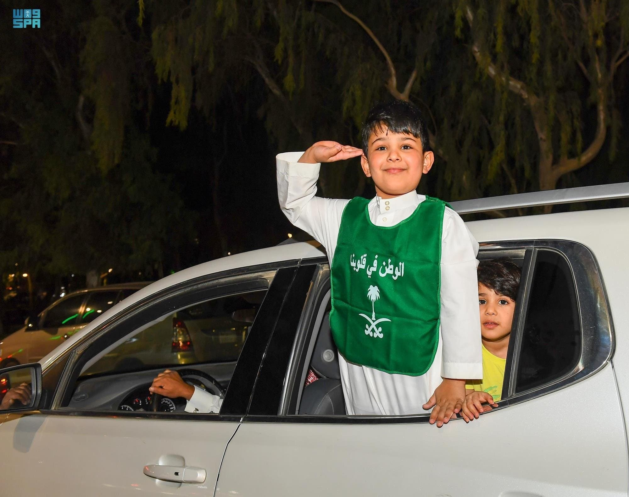 سعودی عرب کے 91 ویں قومی دن کے موقع پر مناظر