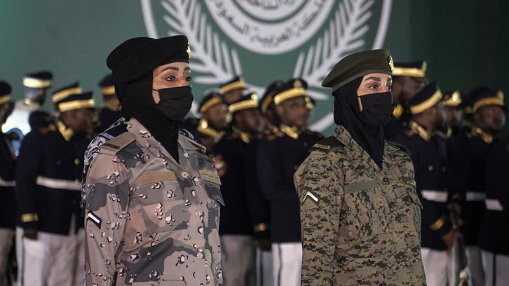 Women take part in Saudi National Day military parade for first time