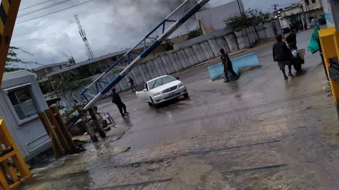 A suicide car bomb reported in Somali capital Mogadishu on Saturday, September 25. (Twitter)