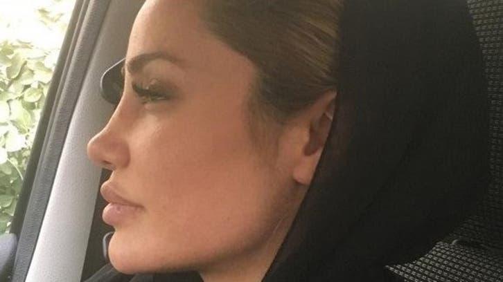 ممثلة أهوازية شبيهة بأنجلينا جولي على قناة إيرانية: أنا عربية وأعتز بعروبتي