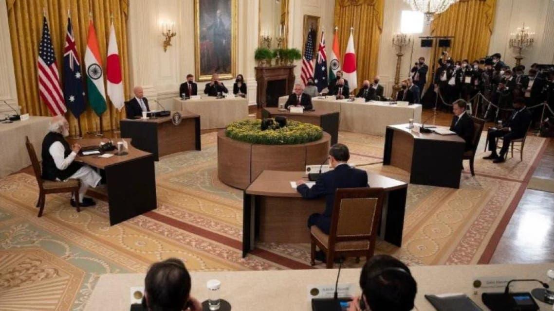 نشست کواد در کاخ سفید