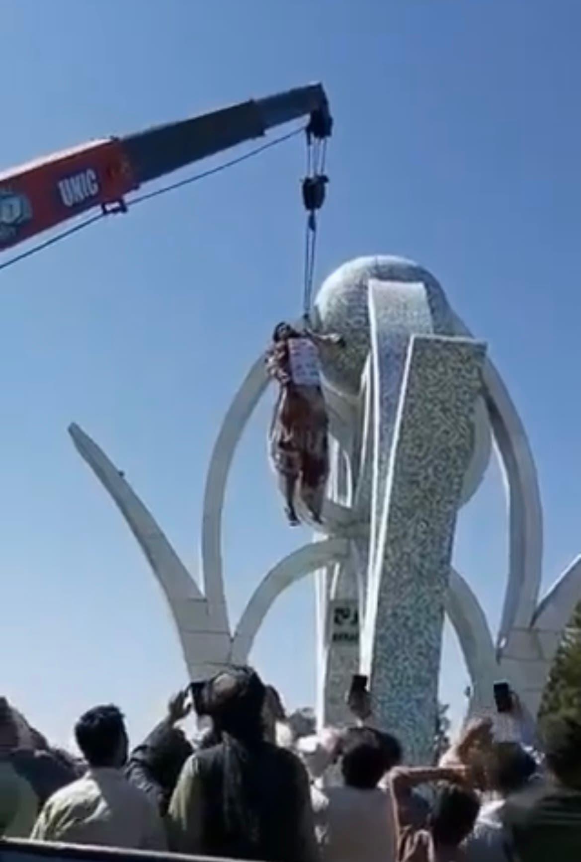 طالبان نے ہرات میں چار افراد کو سرعام پھانسی دے دی
