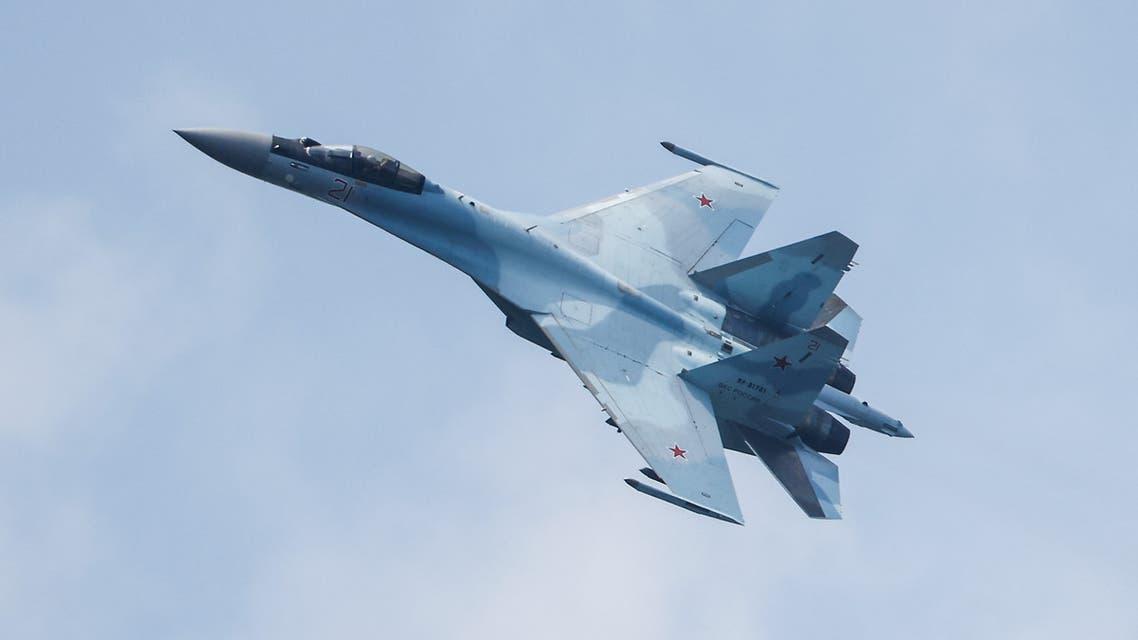 طائرة سوخوي روسية (رويترز)