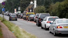 Behave normally, UK transport minister tells Britons queuing for fuel