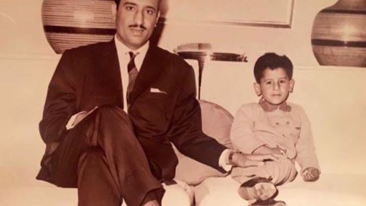 شاہ سلمان اوران کے صاحبزادے شہزادہ عبدالعزیز کی بچپن کی نایاب فوٹو