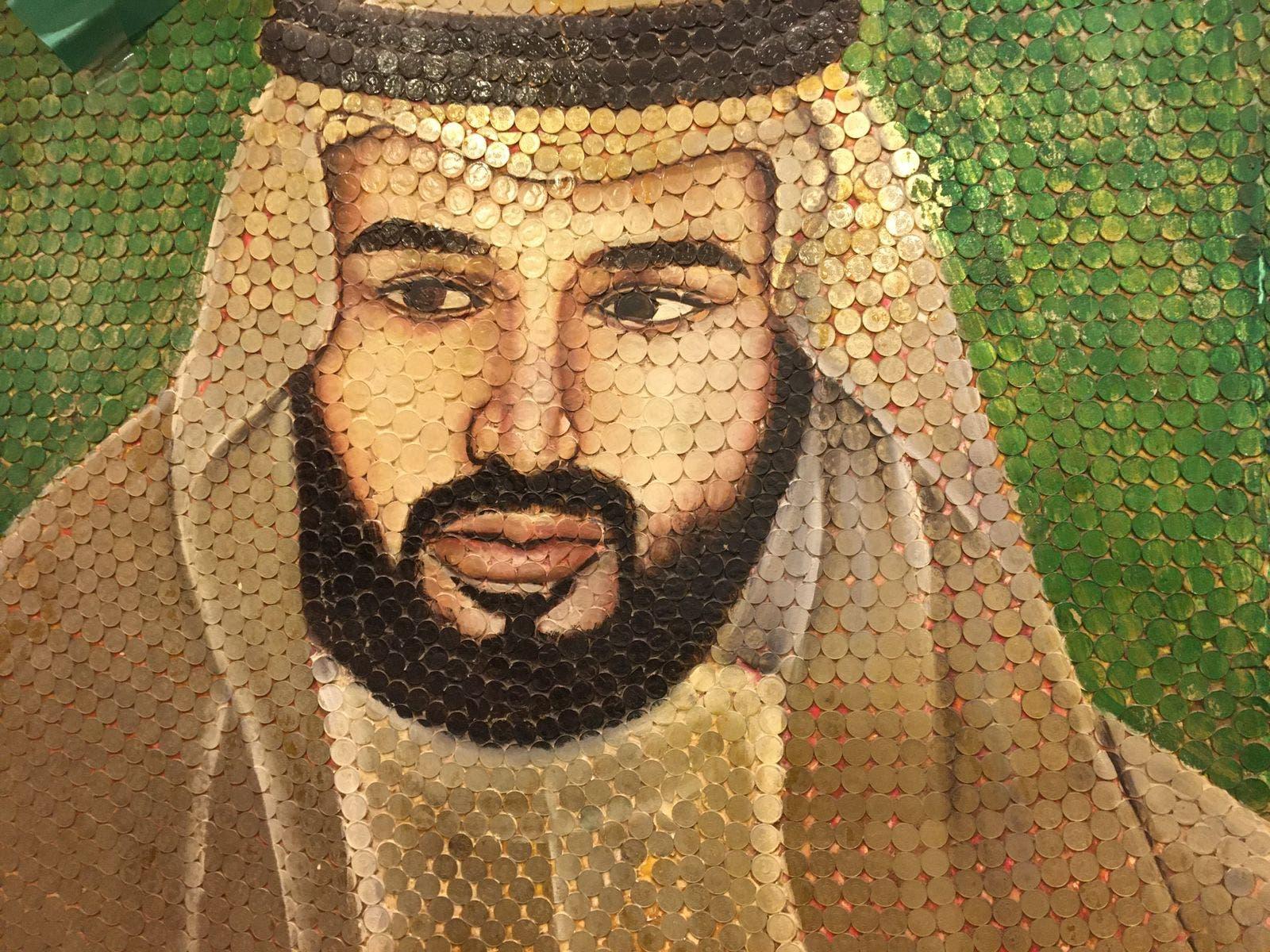 جانب من أعمال هشام النجار - تصوير - لؤي حزام