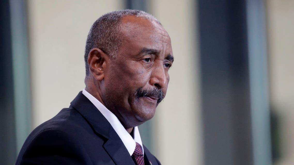 رئيس مجلس السيادة في السودان عبد الفتاح البرهان (أ{شيفية- فرانس برس)