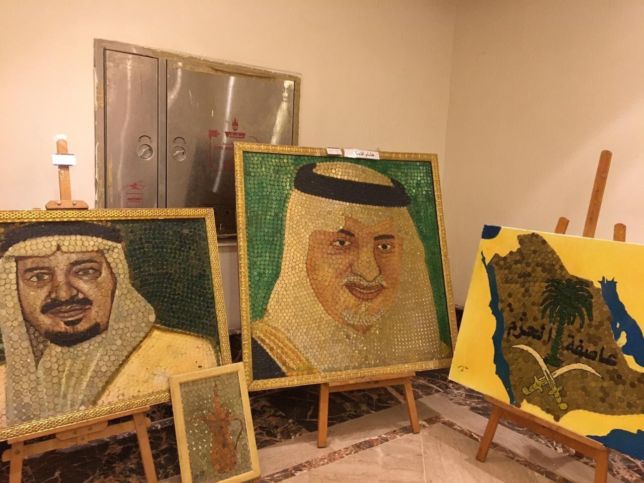 من أعمال الفنان هشام النجار