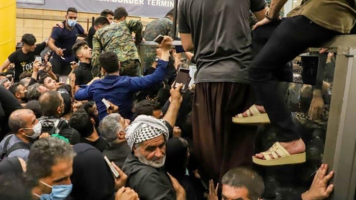 زخمیشدن دهها زائر ایرانی بر اثر ازدحام در مرز شلمچه