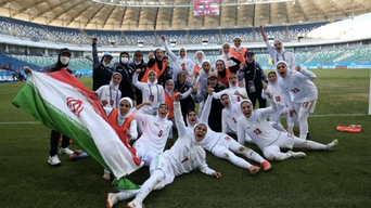 تاریخسازی بانوان فوتبالیست ایران با صعود به جام ملتهای آسیا