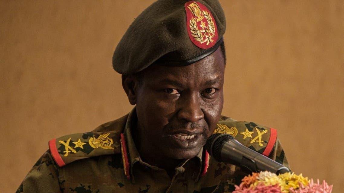 شمس الدين كباشي عضو مجلس السيادة السوداني (أرشيفية- فرانس برس)