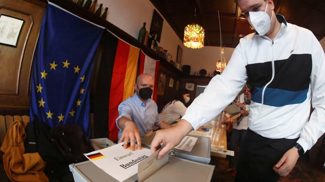 انتخابات ألمانيا (رويترز)