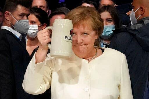 المستشارة الألمانية أنجيلا ميركل (أسوشييتد برس)