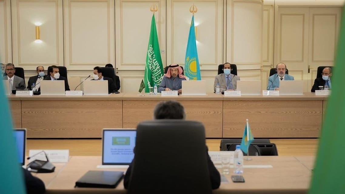 اللجنة السعودية الكازاخستانية