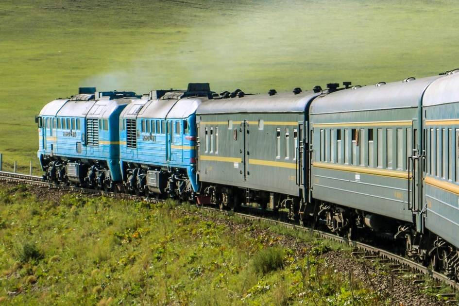 Granted the Trans-Siberian railway crossing isn't the quickest journey, and if you connect with the Trans-Mongolian section, your departure from Moscow will see you meander across wild open country to arrive in Beijing six nights later. (Image: Shutterstock)