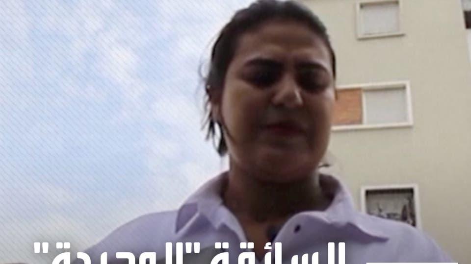 سعاد حديدو.. السائقة الوحيدة في العاصمة الرباط