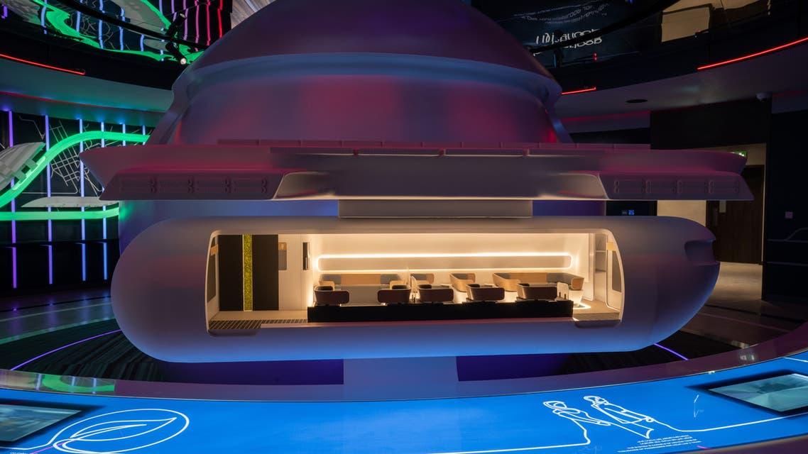 Virgin Hyperloop are set to showcase a full-scale hyperloop cargo pod at Dubai Expo 2020. (Supplied)