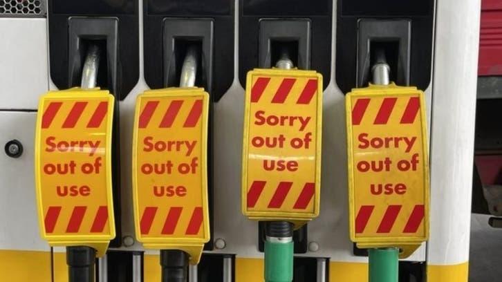 بریتیش پترولیوم: یکسوم جایگاههای فروش سوخت بریتانیا خالی است