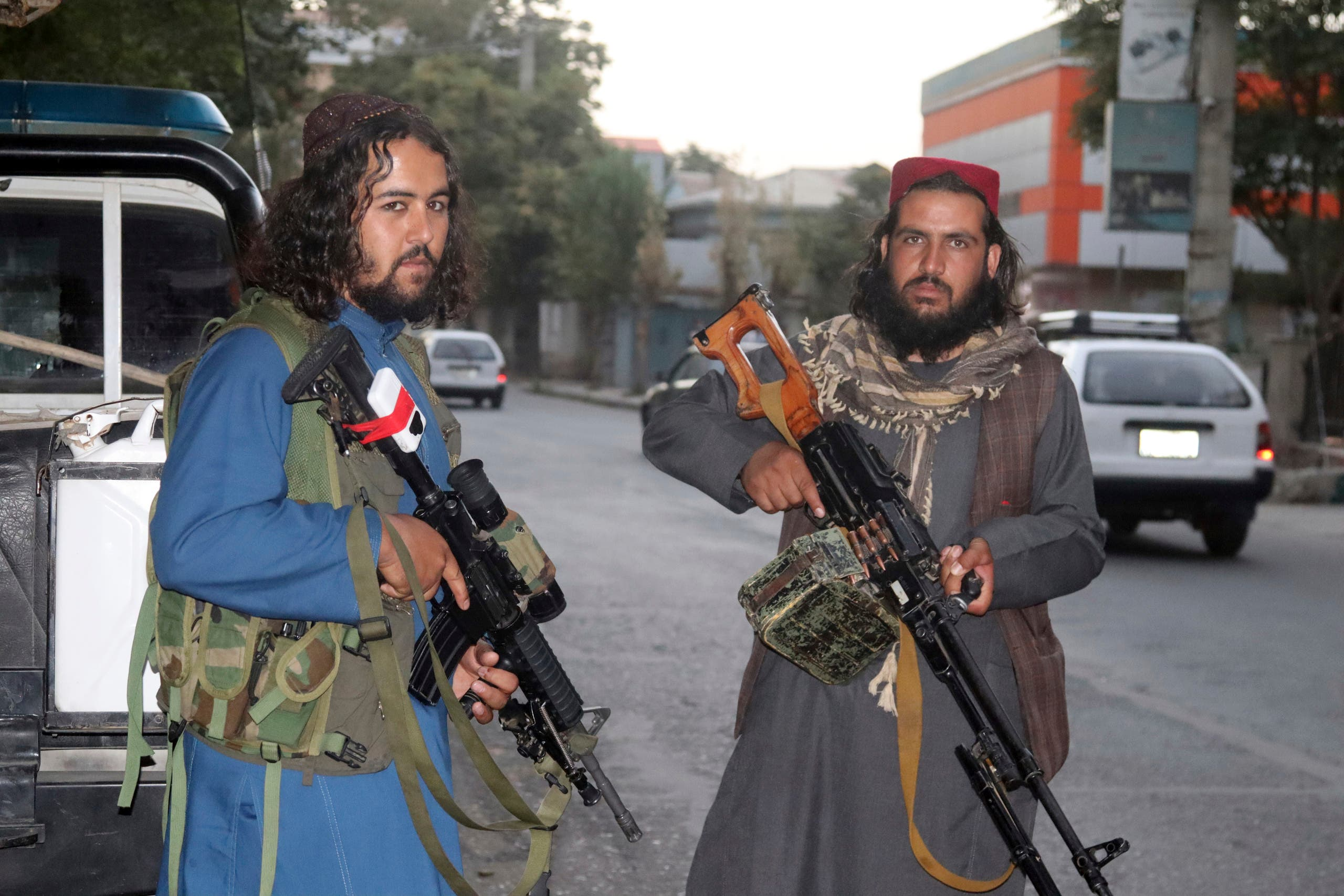 Taliban fighters (archive - The Associated Press)