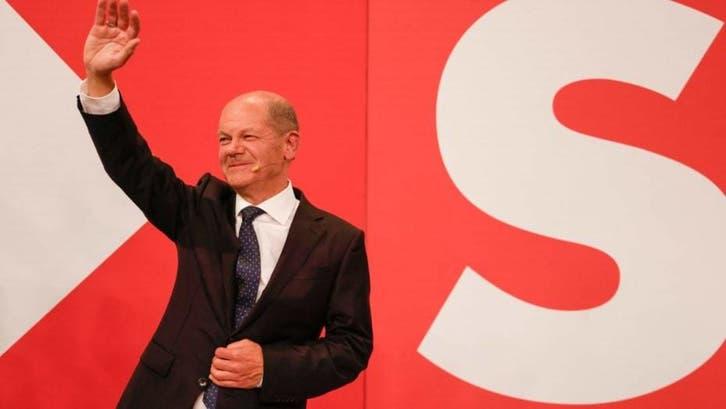 پیروزی حزب سوسیال دموکرات در انتخابات آلمان