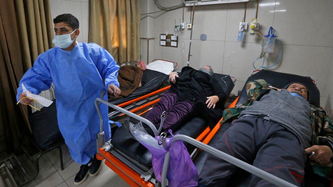 مستشفيات في دمشق (فرانس برس)