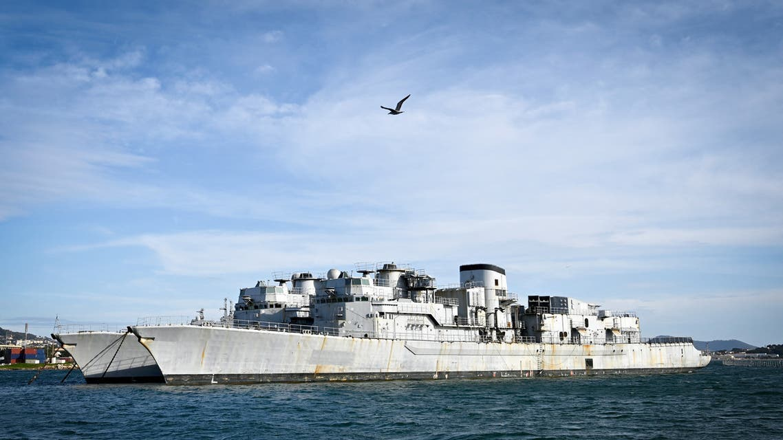 In this photograph taken on December 4, 2019, French Marine Nationale Jean de Vienne and Montcalm F70 type Anti-Submarine Frigates (ASMF). (File photo: AFP)