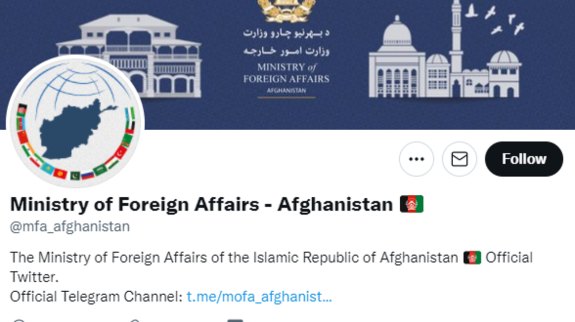 Taliban Afghanistan twitter