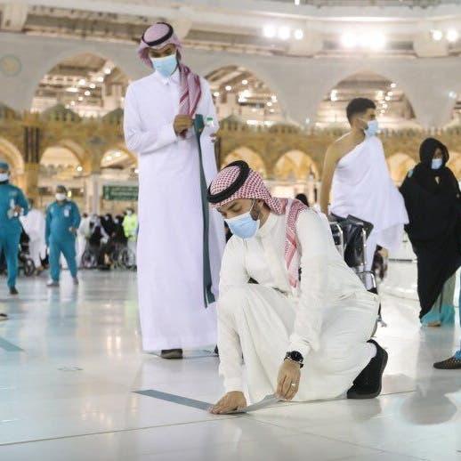مع زيادة المعتمرين.. استحداث ٢٥ مسارا جديدا بالمسجد الحرام