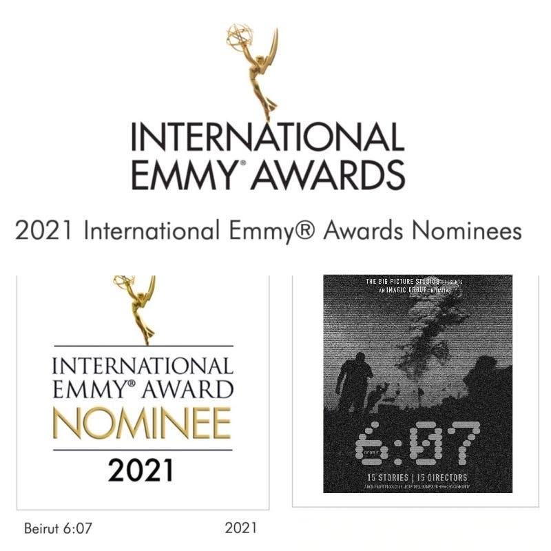 الترشح لجوائز الإيمي