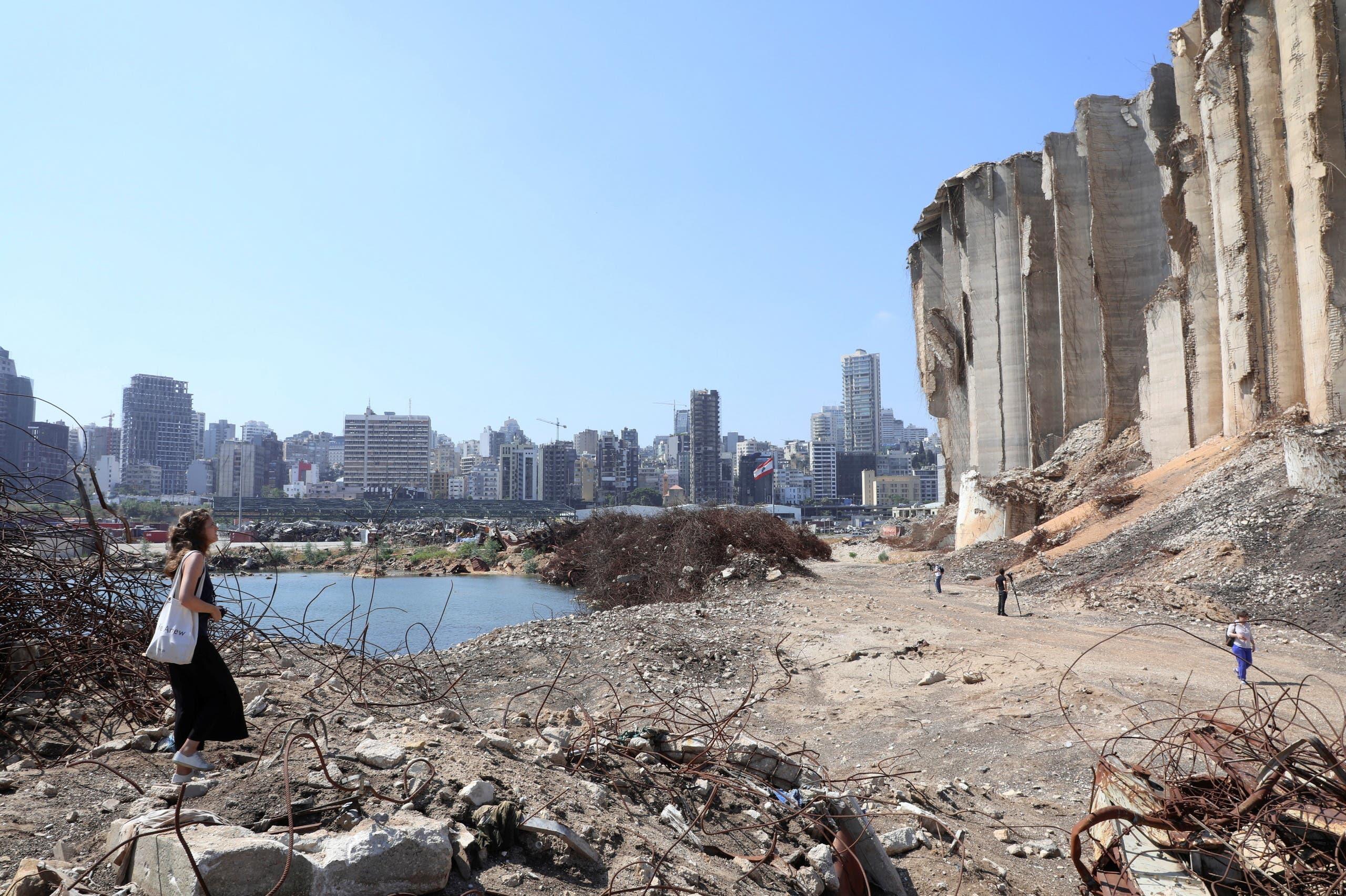 من مرفأ بيروت (أرشيفية من رويترز)