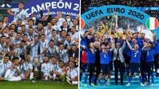 ملعب مارادونا يحتضن مواجهة بطلي أوروبا وأميركا الجنوبية