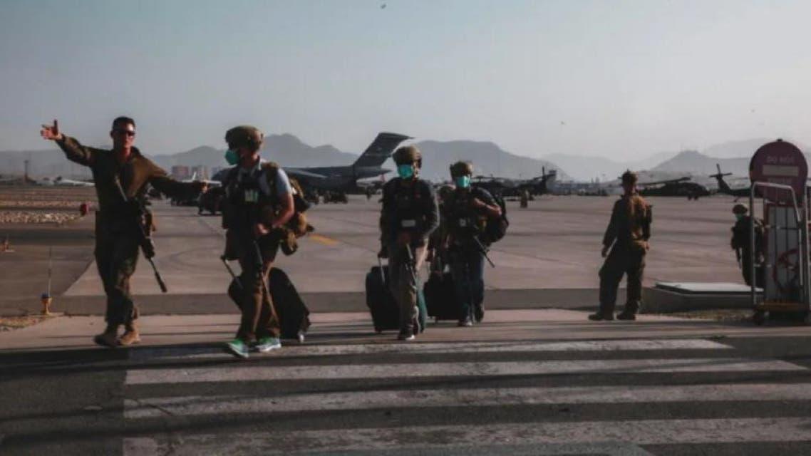 خروج نيروهای آمریکا از افغانستان