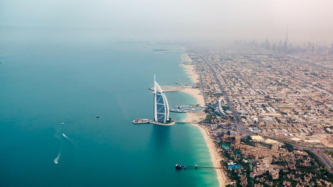 An aerial image of Dubai. (Unsplash, Christoph Schulz)