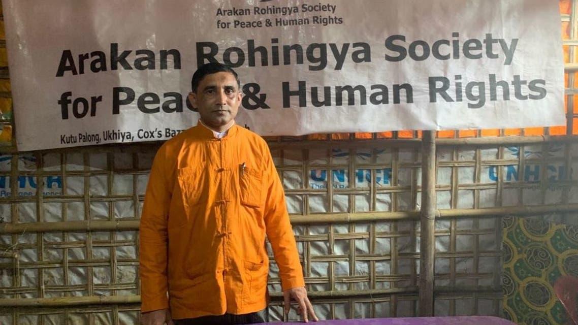 محب الله زعيم اللاجئين الروهينغا في بنغلاديش