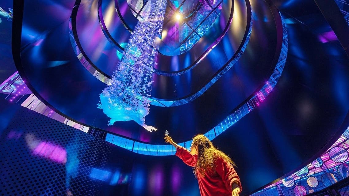 Giant photo-realistic sculptures, the world's largest elevating platform and highlights of the UAE's space program are among the attractions set to feature at Alif – The Mobility Pavilion at Expo 2020 Dubai. (Supplied)