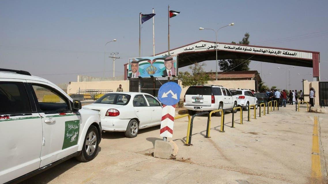 مركز حدود جابر على الحدود الأردنية السورية
