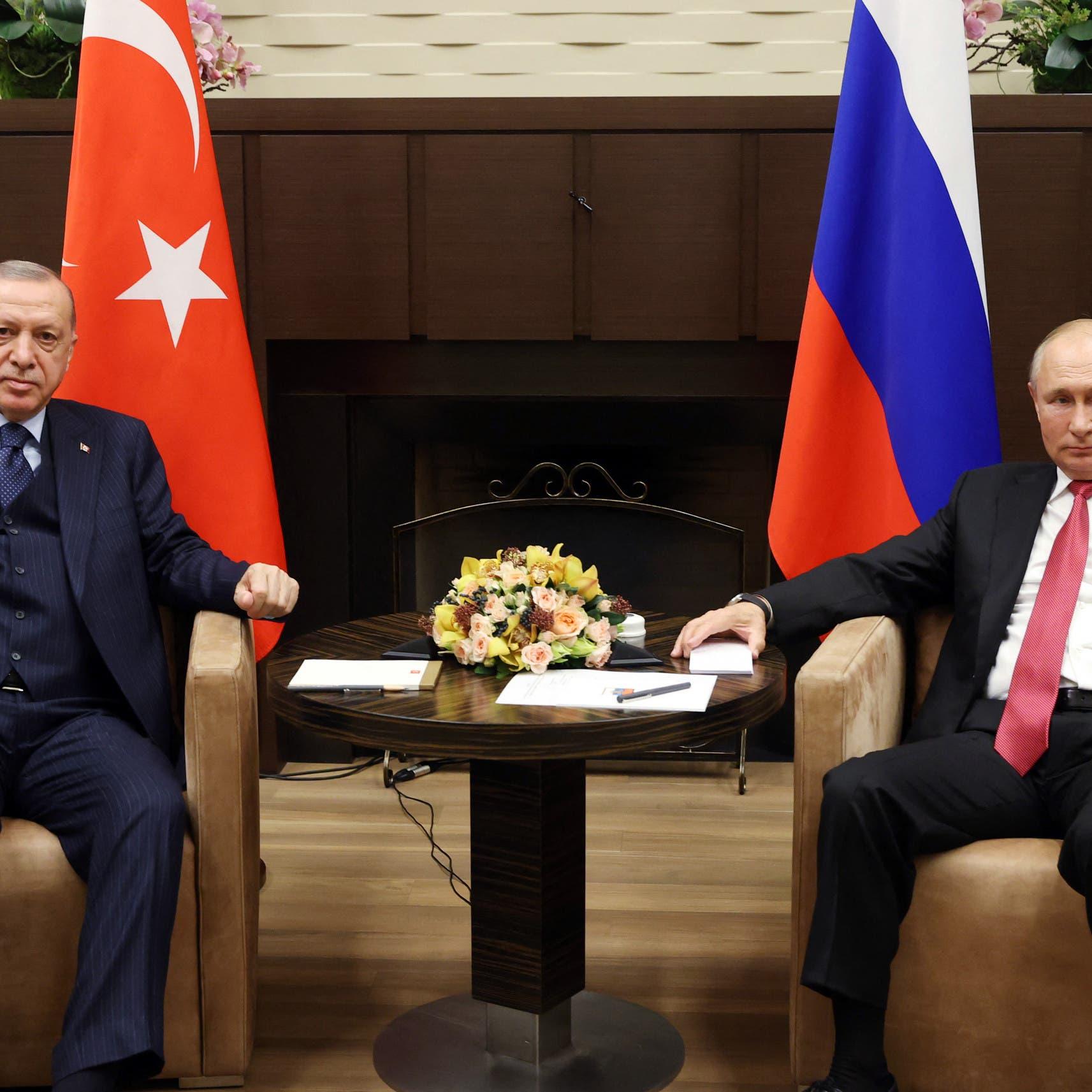 بوتين: اجتماعاتنا مع أردوغان لا تسير دائماً بشكل سلس