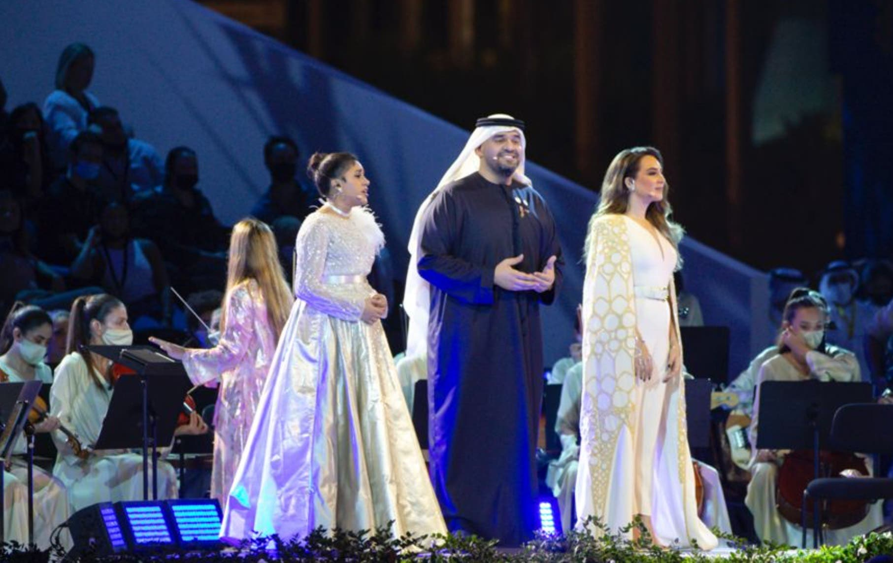 حسين الجسمي في حفل إكسبو 2020