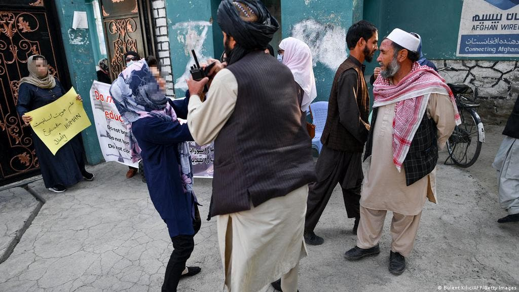 تظاهرات زنان کابل