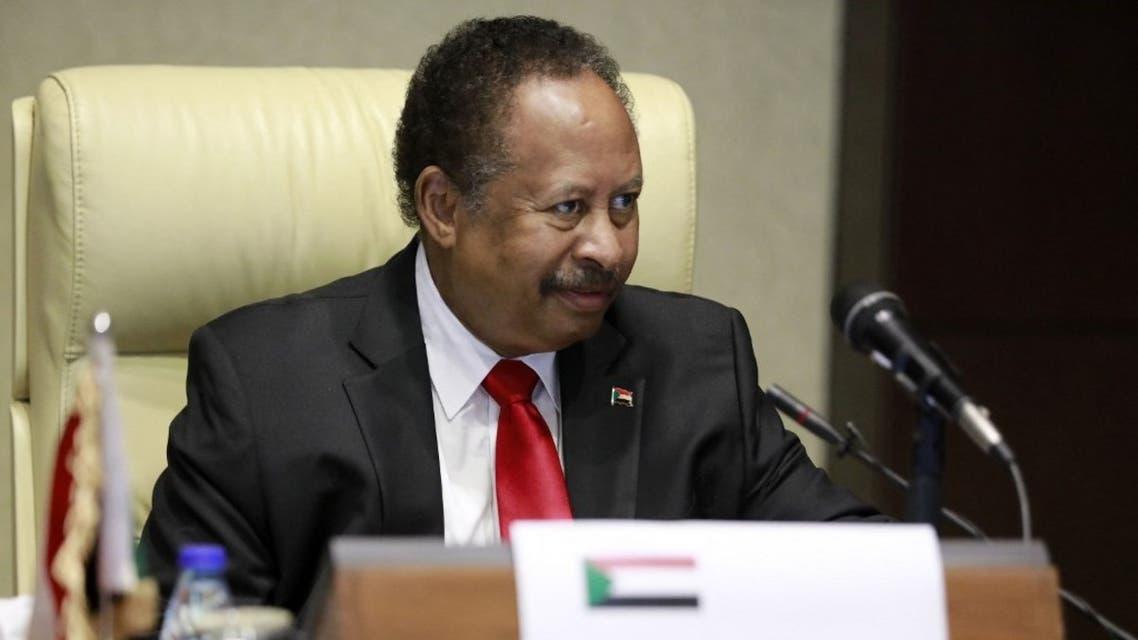 رئيس الوزراء السوداني عبدالله حمدوك (فرانس برس)