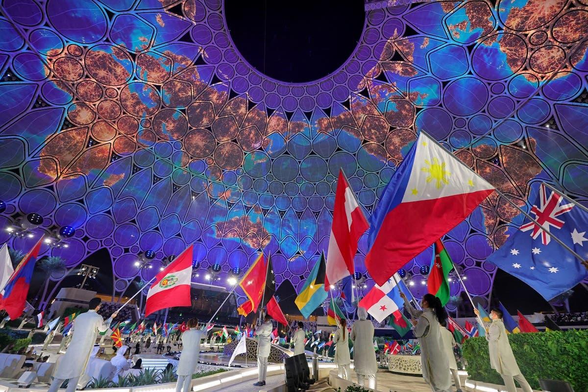 من حفل افتتاح إكسبو دبي 2020