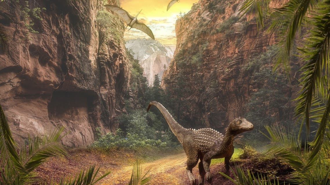 The rise of dinosaurs coincided with environmental changes driven by major volcanic eruptions over 230 million years ago, a new study reveals. (Supplied)