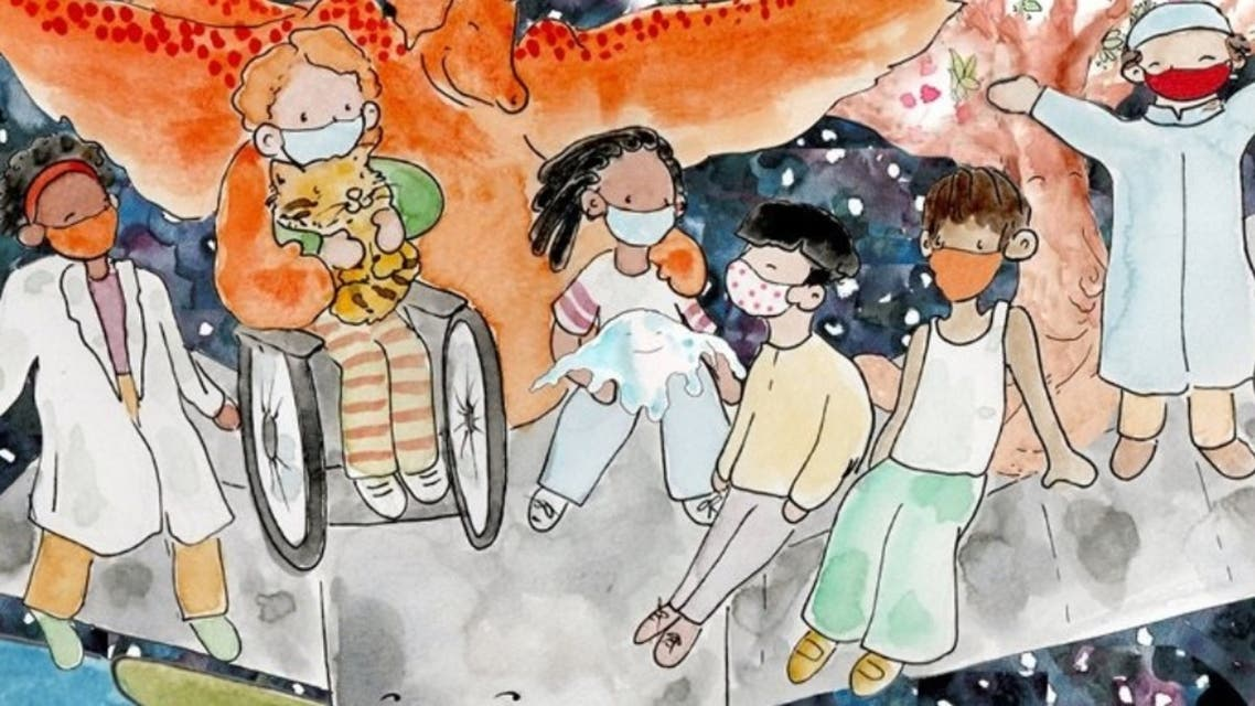 A newly-released storybook aims to help children stay hopeful and positive during the COVID-19 pandemic. (Supplied)