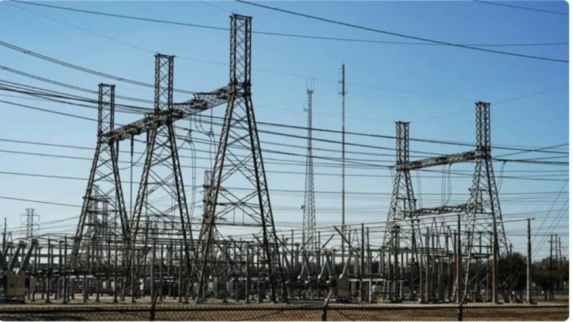 دکلهای انتقال برق در عراق