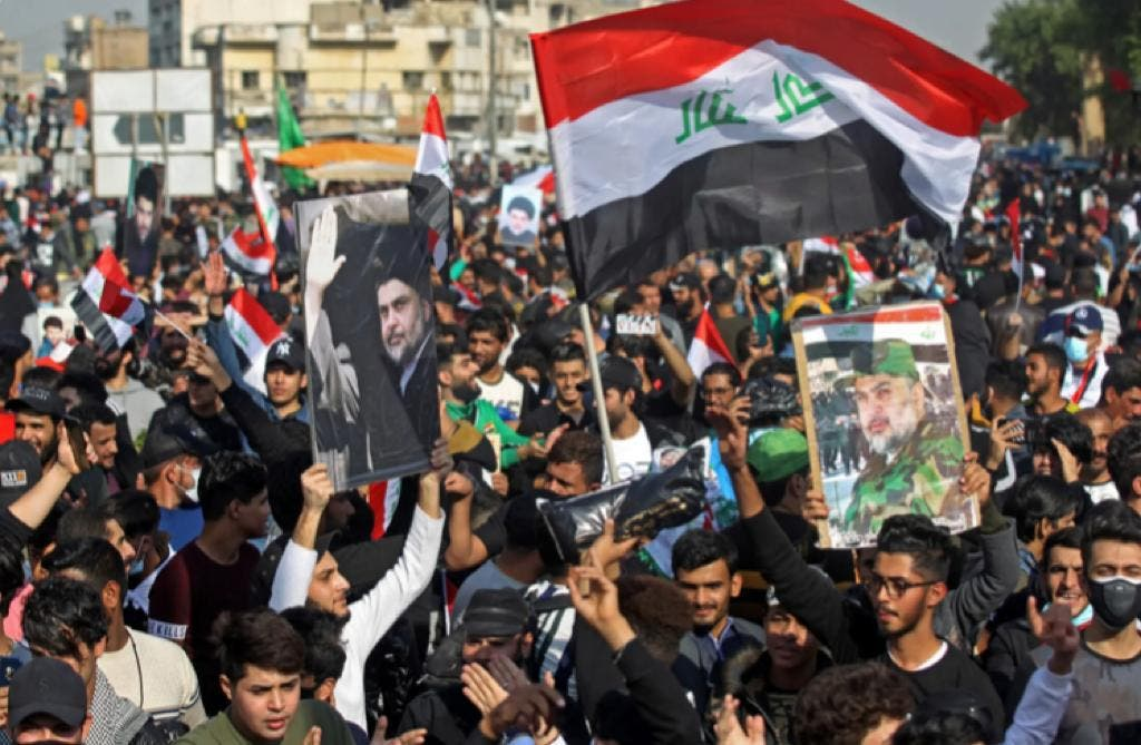 حامیان جریان صدر در بغداد